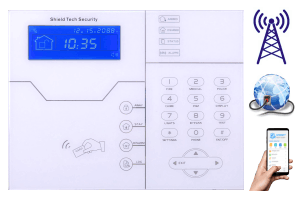 Internet Alarm System Smart Phone App