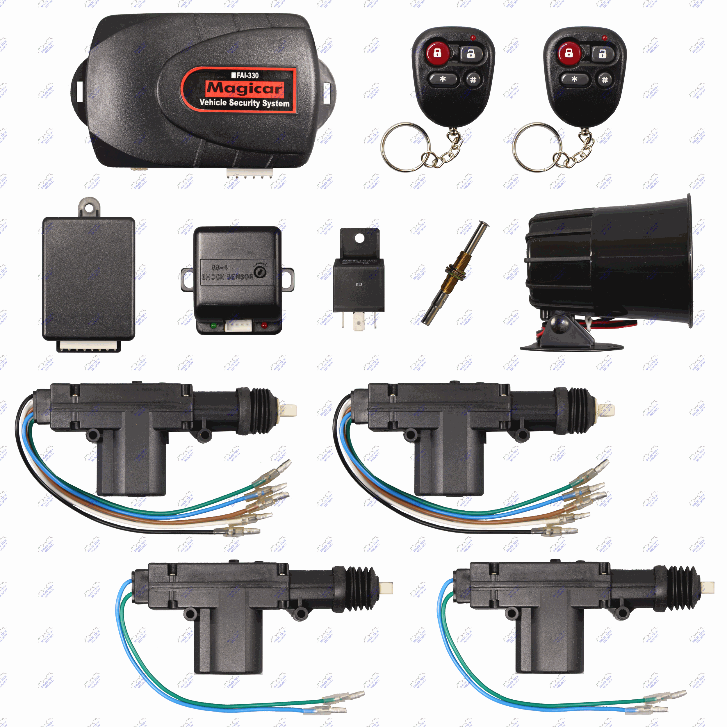 fai 330 586 main picture1 x2500 remote car alarm keyless entry security 4 door power lock  at soozxer.org