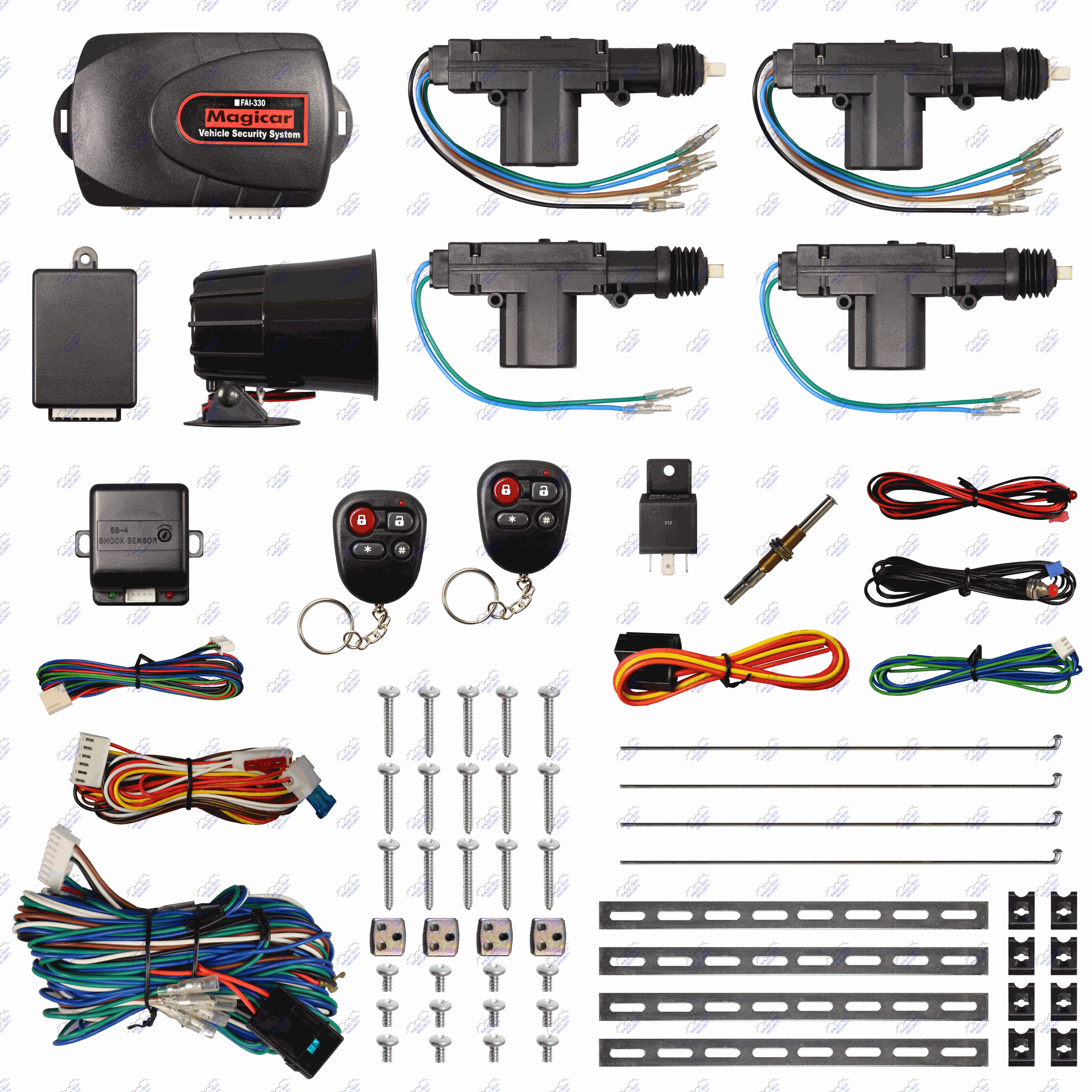 fai 330 586 main picture2 x2500 remote car alarm keyless entry security 4 door power lock  at crackthecode.co