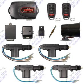 remote car alarm keyless entry security 2 4 door power lock rh ebay com