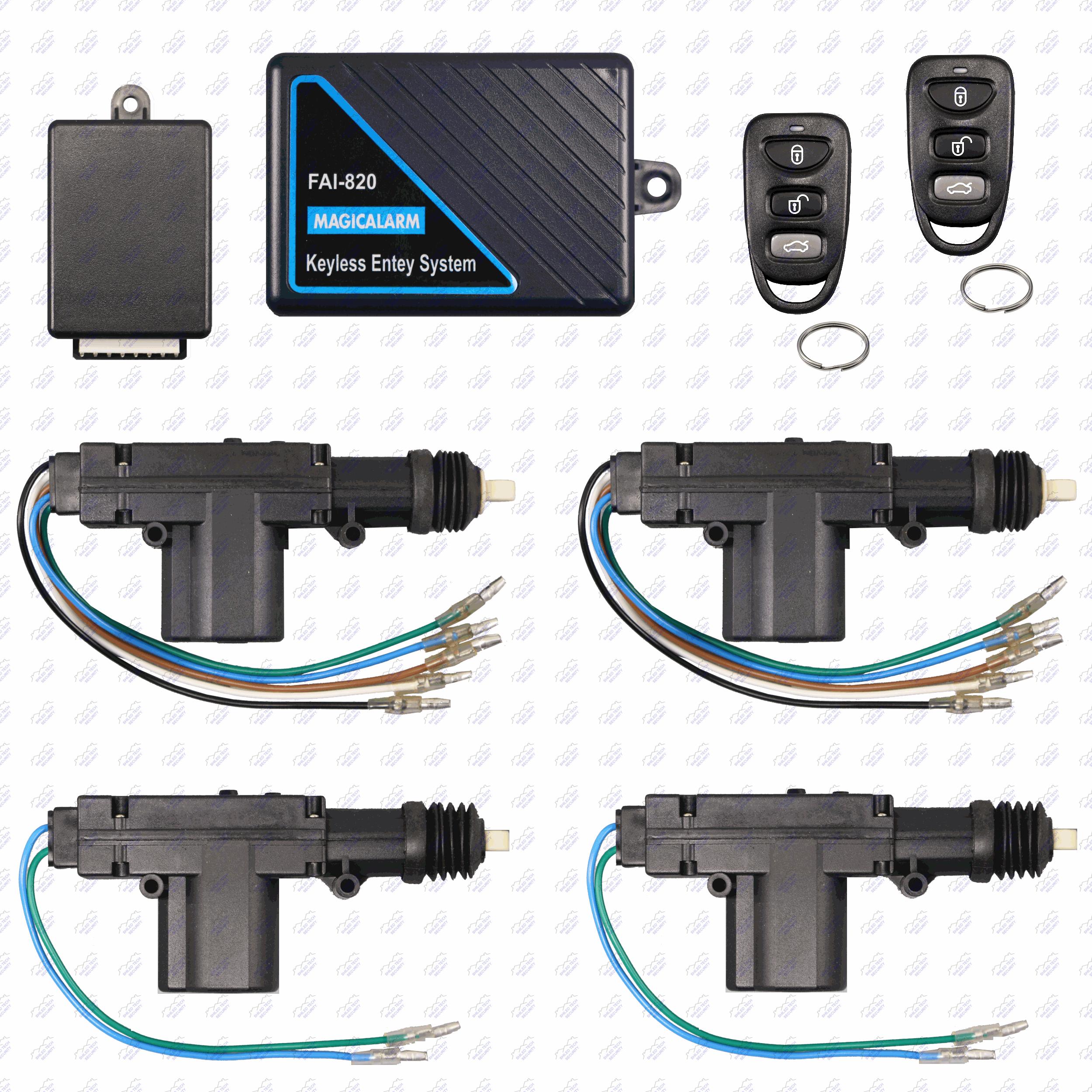 Remote Keyless Entry System   4 Door Power Lock Heavy Duty