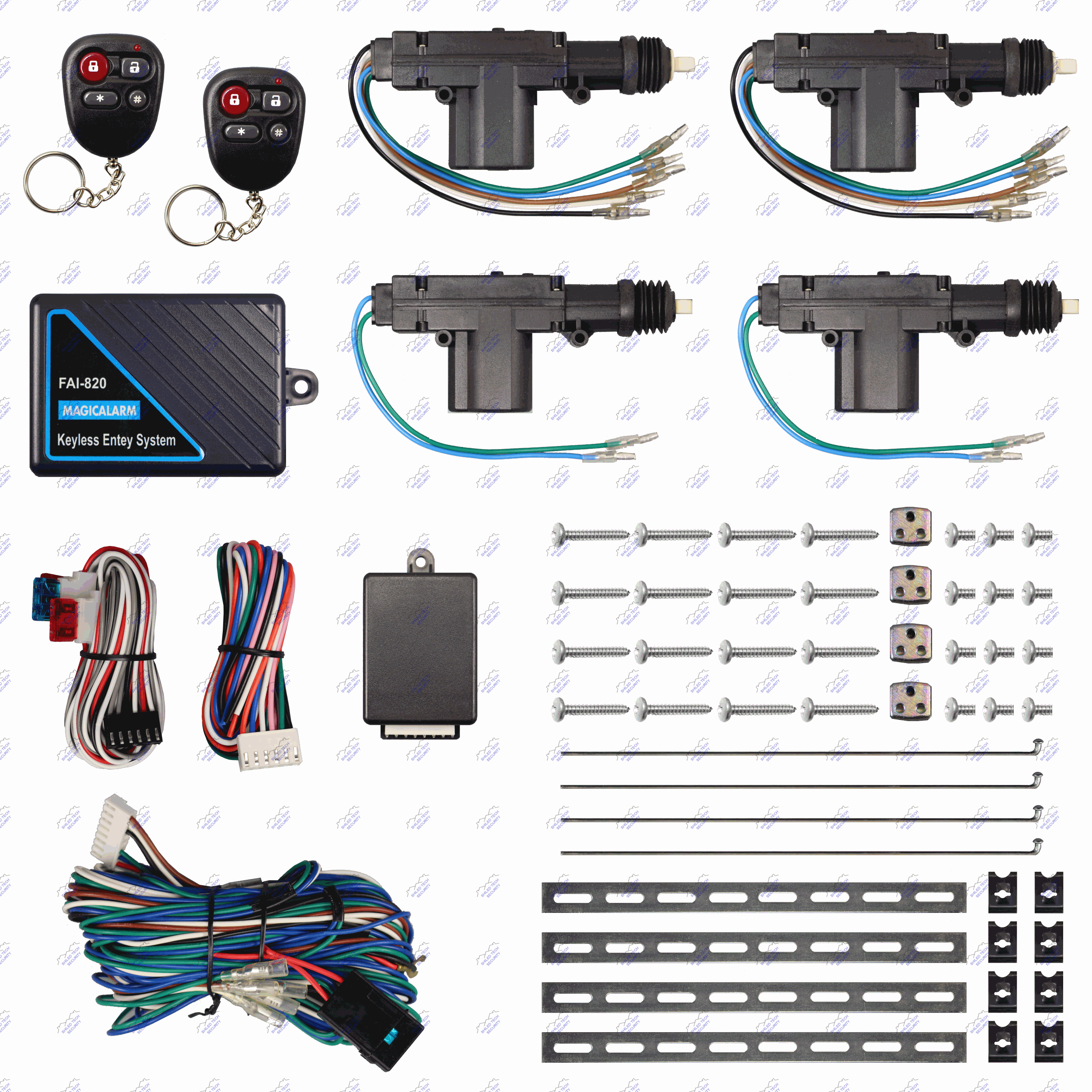 Remote Keyless Entry System   4 Door Power Lock Heavy Duty