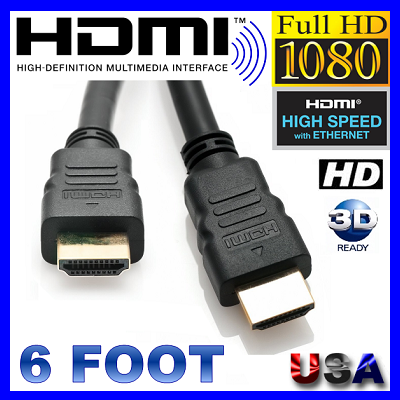 HDMI 6FT SHIELD TECH SECURITY