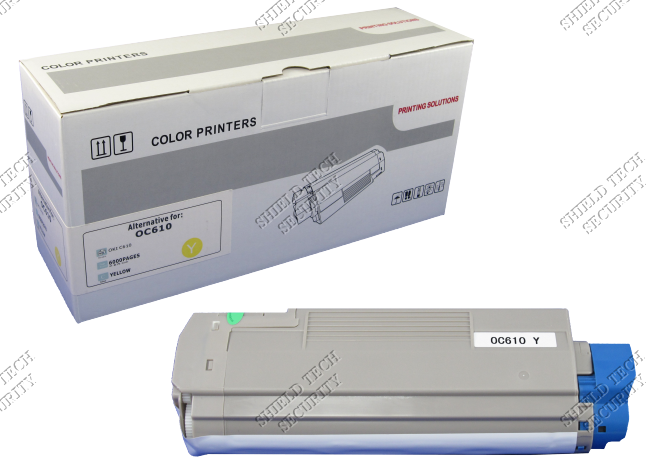OKI C610N Yellow Printer Toner