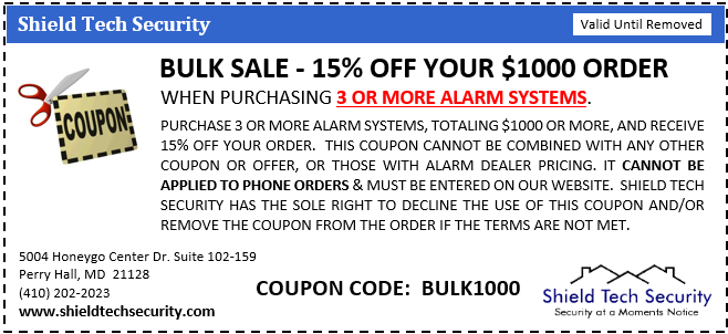 STALARMS 15% Off Coupon