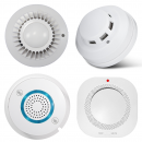 Wired Smoke Detectors for Alarm Systems