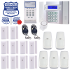 Cellular Alarm with Phone Line Backup