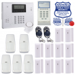 Wireless Security System w/ Phone Line Dialer