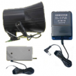 Universal Wireless Outdoor Siren w/ Power Adapter & Transmitter (For 433Mhz Alarms & All Non-315mhz Alarms)