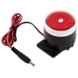 Wired Indoor Siren (Red/Blk)