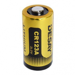 Desay CR123 CR123A Lithium Battery 1600mAh