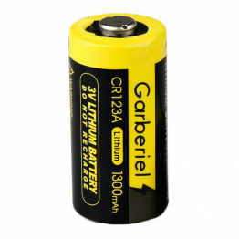 3v Lithium CR123/CR123A Battery ~1300mAh