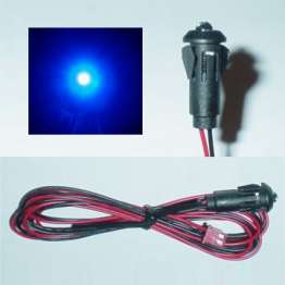 Super Bright Blue LED Light [2v-14.5v]