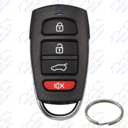 4-Button Keyless Entry & Car Alarm Remote