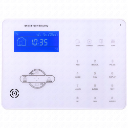 Wireless or Wired Security System w/ Phone Dialer [STS-412 Keypad Only]