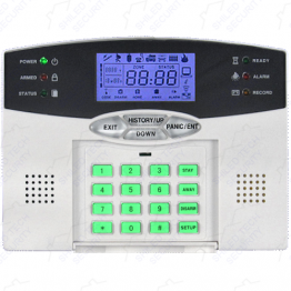 Wireless or Wired Security System w/ Phone Dialer [STS-410 Keypad Only]
