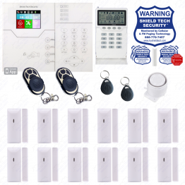Wireless Security System w/ Opt. Internet & 4G LTE Cellular