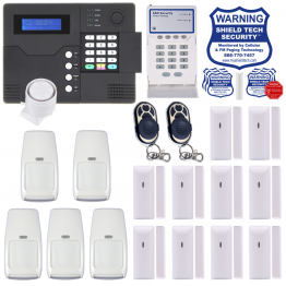 Wireless Security System w/ Phone Line & Cellular Dialer