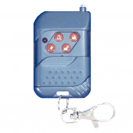 Key Chain Remote w/ Slide Cover [Blue]