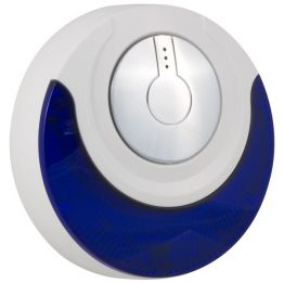 Wireless Indoor Siren w/ Blue Strobe