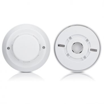 Wired Smoke Detector for Alarm System 4-Wire 12 volts