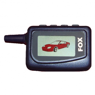 LCD 2-Way Paging Car Alarm Remote