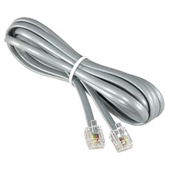 Standard 2-Wire Phone Line (Gray 6')