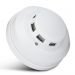 Wired Smoke Detector for 12v Normally Opened or Normally Closed (NO/NC) Alarm Systems - 12 Volt