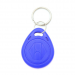 Blue RFID Tag Key Chain Token Access Control