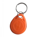 Orange RFID Tag Key Chain Token