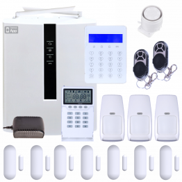 Wireless Security System w/ Phone Line, Opt. Internet & 4G LTE Cellular