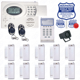 Wireless Security System w/ Phone Dialer