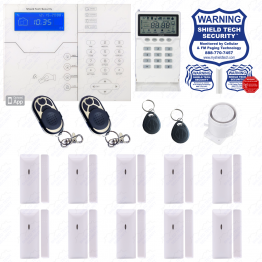 Phone App Alarm System with Cellular GSM
