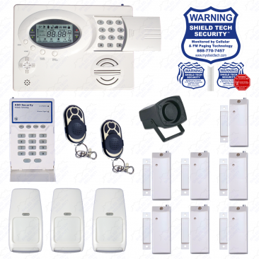 Wireless Alarm System Motion
