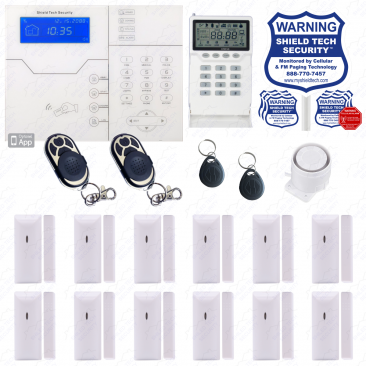 Internet WIFI Alarm Remote Access Phone App
